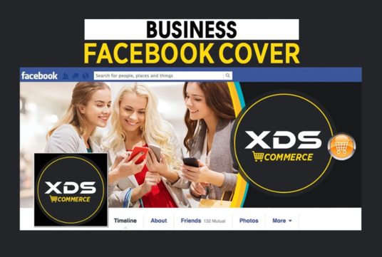 Design Your Facebook Cover Or Any Social Media Banner