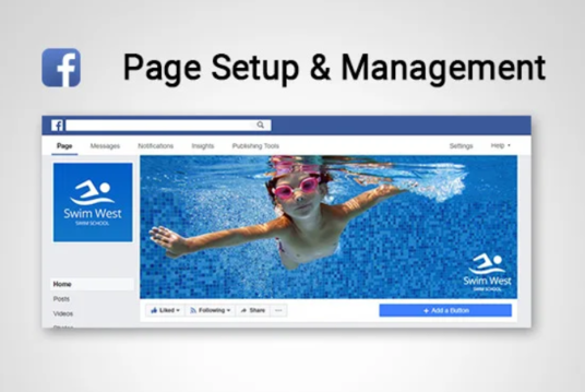 I will Setup And Manage Your Facebook Page