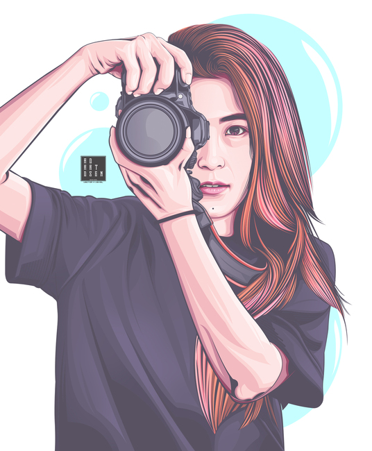 I will make your photo into Vector art portrait