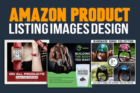 I will Design Premium Product Listing Images For Amazon And Ebay