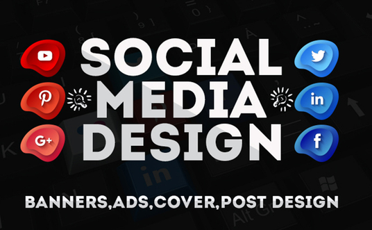 I will do social media design for any platform
