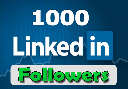 I will deliver 1000+ LinkedIn Followers
