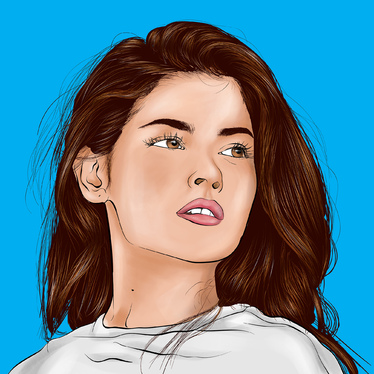 Draw Cartoon Portrait In My Vector Style