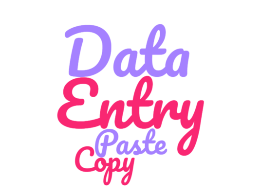 I will Do Data Entry and copy paste work