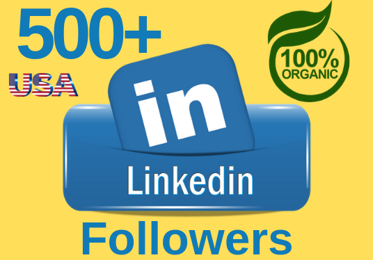 I will deliver 300+ LinkedIn Followers