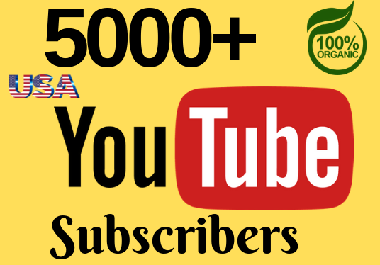 I will deliver 1000+ YouTube subscribers