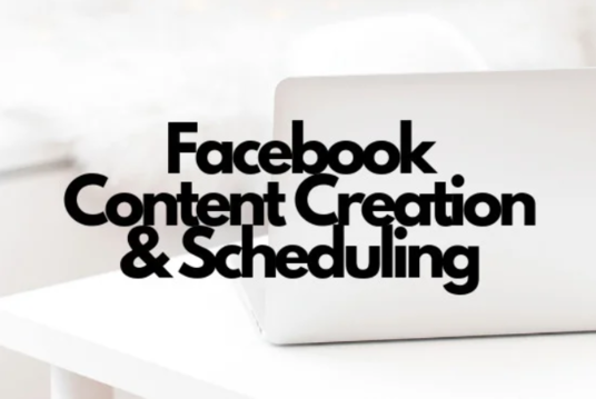I will Create And Schedule Facebook Business Page Content
