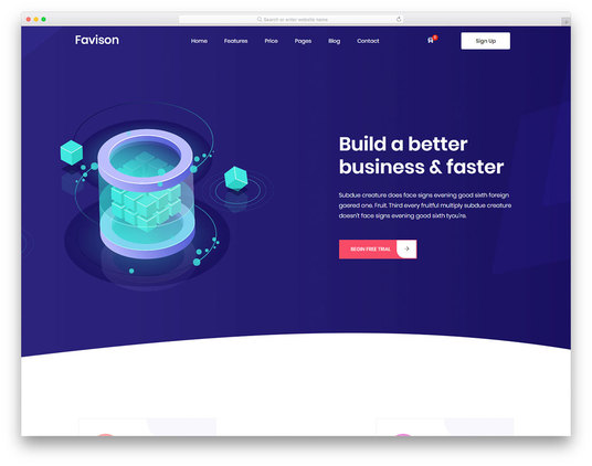 I will create a premium website for your business