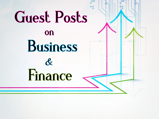 I will Publish Business and Finance Guest Posts and Backlinks