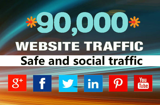 I will Drive organic web traffic
