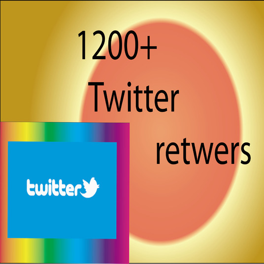 I will provide you 1200 twitter retweets