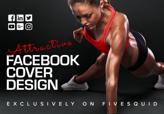 I will design professional facebook cover profile picture and ads design