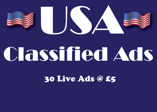 I will Do 30 High Authority USA Classified Ad Postings