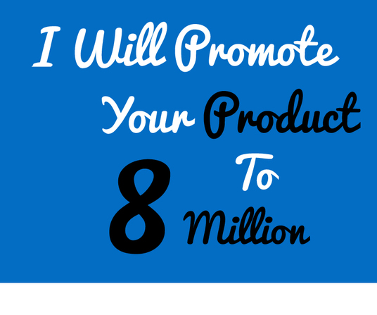 I will Do  killer Facebook Promotion And Promote you On Social Media Sites
