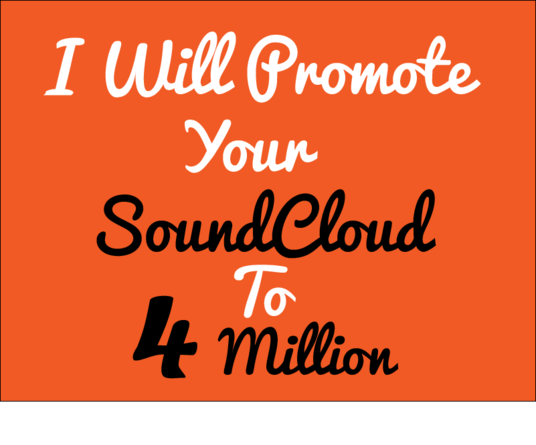 I will Do Organic SoundCloud promotion