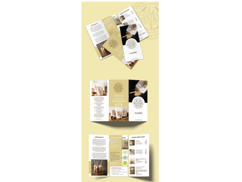 cccccc-design leaflet or brochure for fitness industry