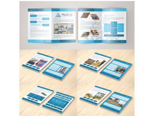 I will design leaflet or brochure for fitness industry