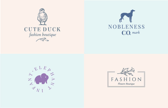 design a minimalist logo for your brand