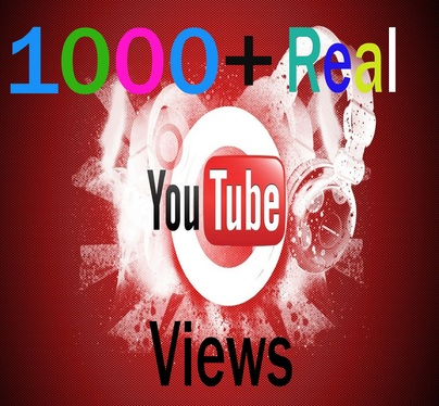 add 1000+ real YouTube views