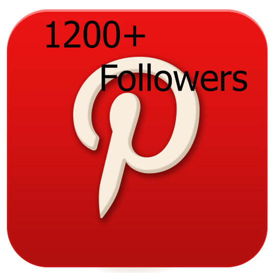 I will give you 1,200+ pinterest followers