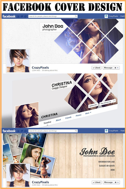 I will design amazing Facebook cover