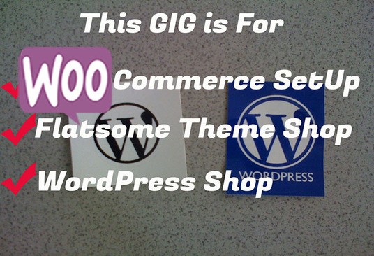 I will work on the woocommerce theme and WordPress shop