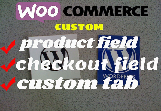 add a custom product field with woocommerce product
