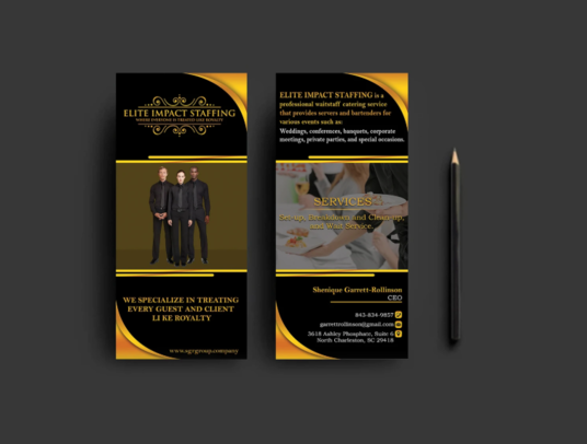 I will Design Amazing Rack Card Or Dl Flyer
