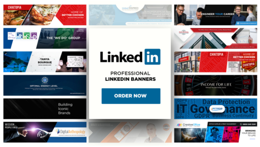 I will Design Your Linkedin Banner