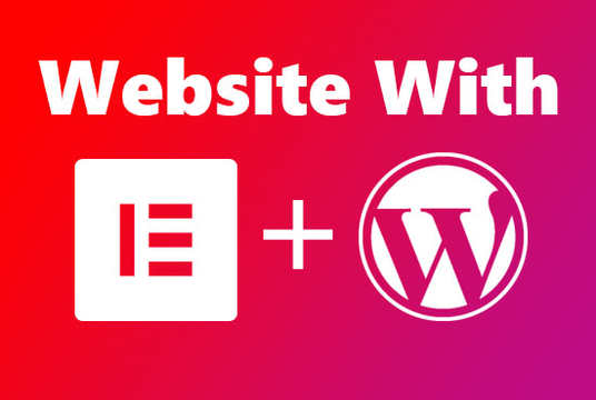 I will install elementor pro & clone, design WordPress website