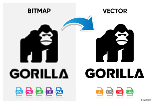 I will convert bitmap logo to vector