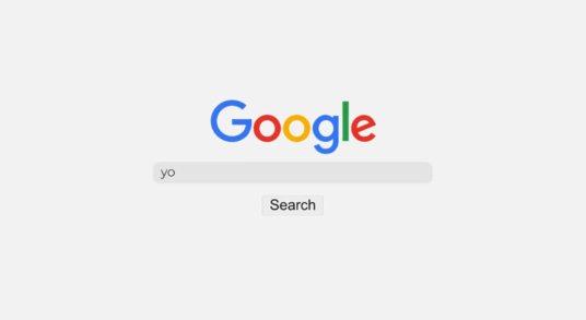 Create Google Search Logo Reveal