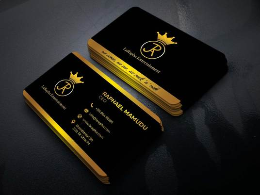I will Design a premium Business card