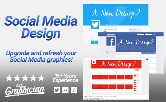 I will design your social media page
