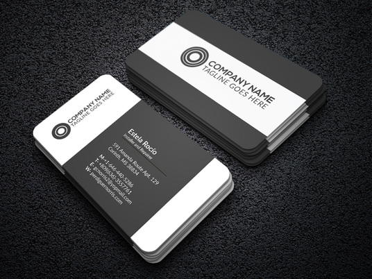 I will Design Professional Business Card vertical and horizontal