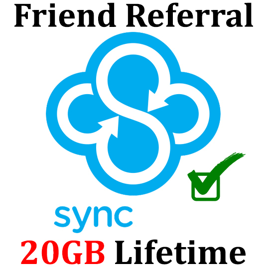 I will extend your SYNC storage 20GB Lifetime