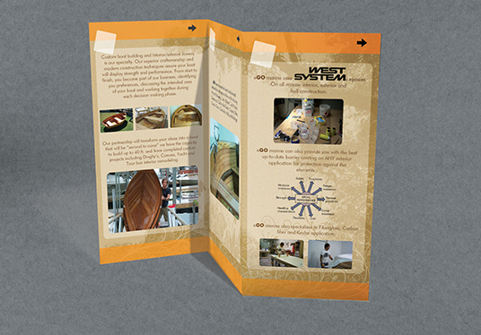 I will Design outstanding Trifold or Bifold brochure