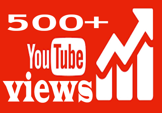 I will provide 500+ youtube views