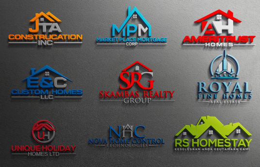 I will Design Luxury Logo For Real Estate