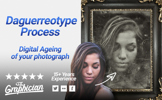 I will digitally age your photograph