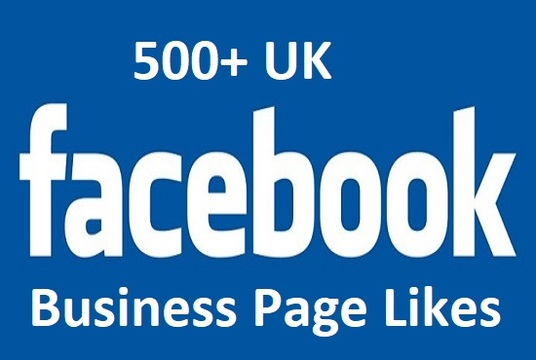 I will give you 500 UK Facebook Fan Page Likes