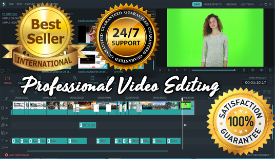 provide expert video editing