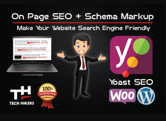 I will Perform  Wordpress Onsite SEO On Page With Schema Markup