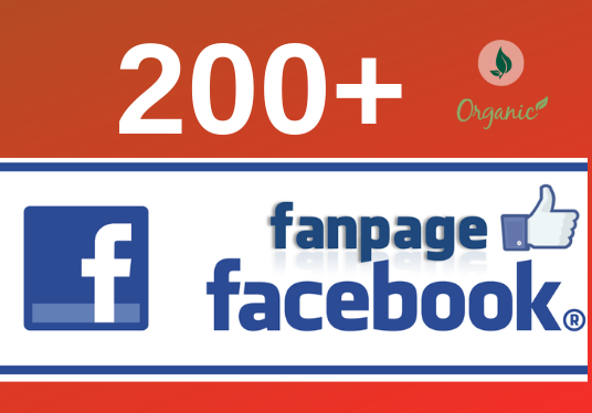I will add 200+ Facebook Fan Page Like