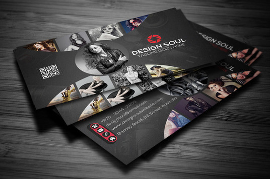 design creative, corporate business card