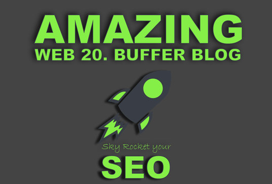 I will Create 10 Amazing Web 2.0 Blogs With Login Details