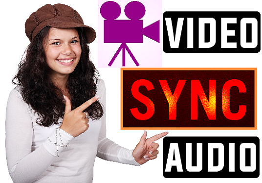 sync power-point slide or video with your audio