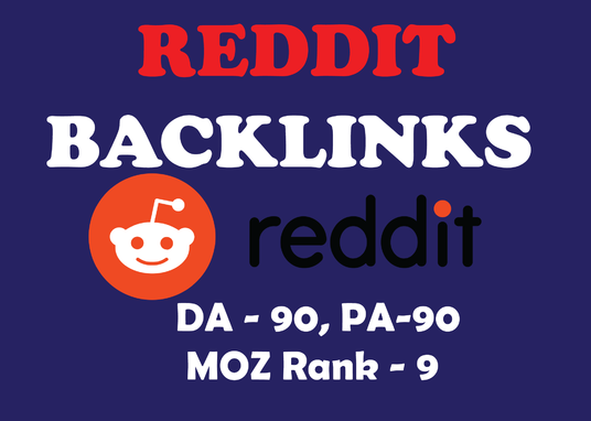 I will Create 50 Backlinks on Reddit