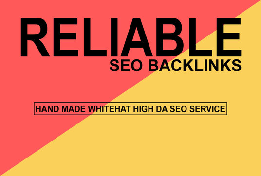 I will create Reliable SEO Backlinks to Improve Your Website Ranking