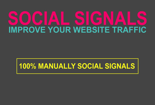 I will Create1200  Social Signals to Improve Your Website Traffic